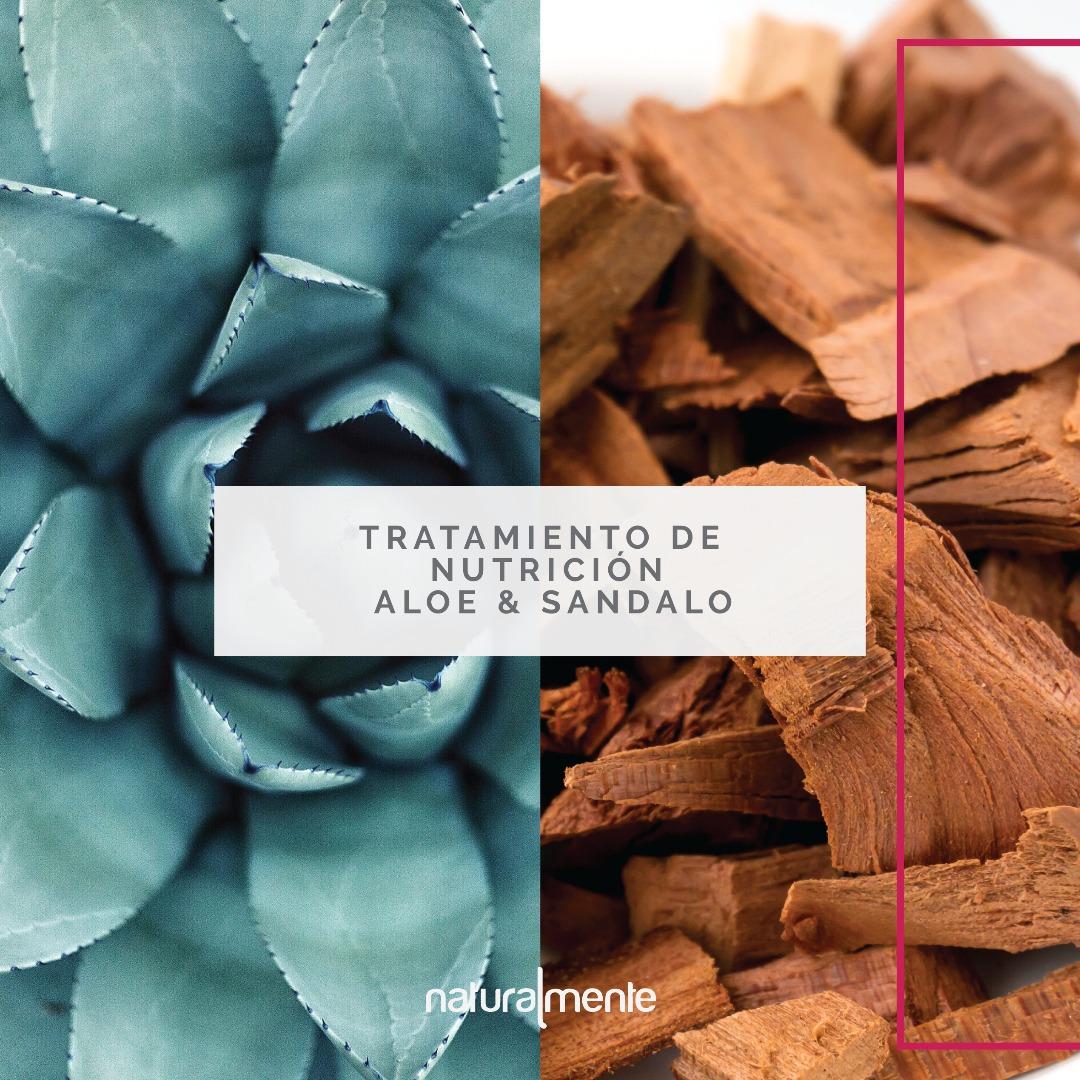 Tratamiento Nutrición Aloe y Sándalo Naturalmente