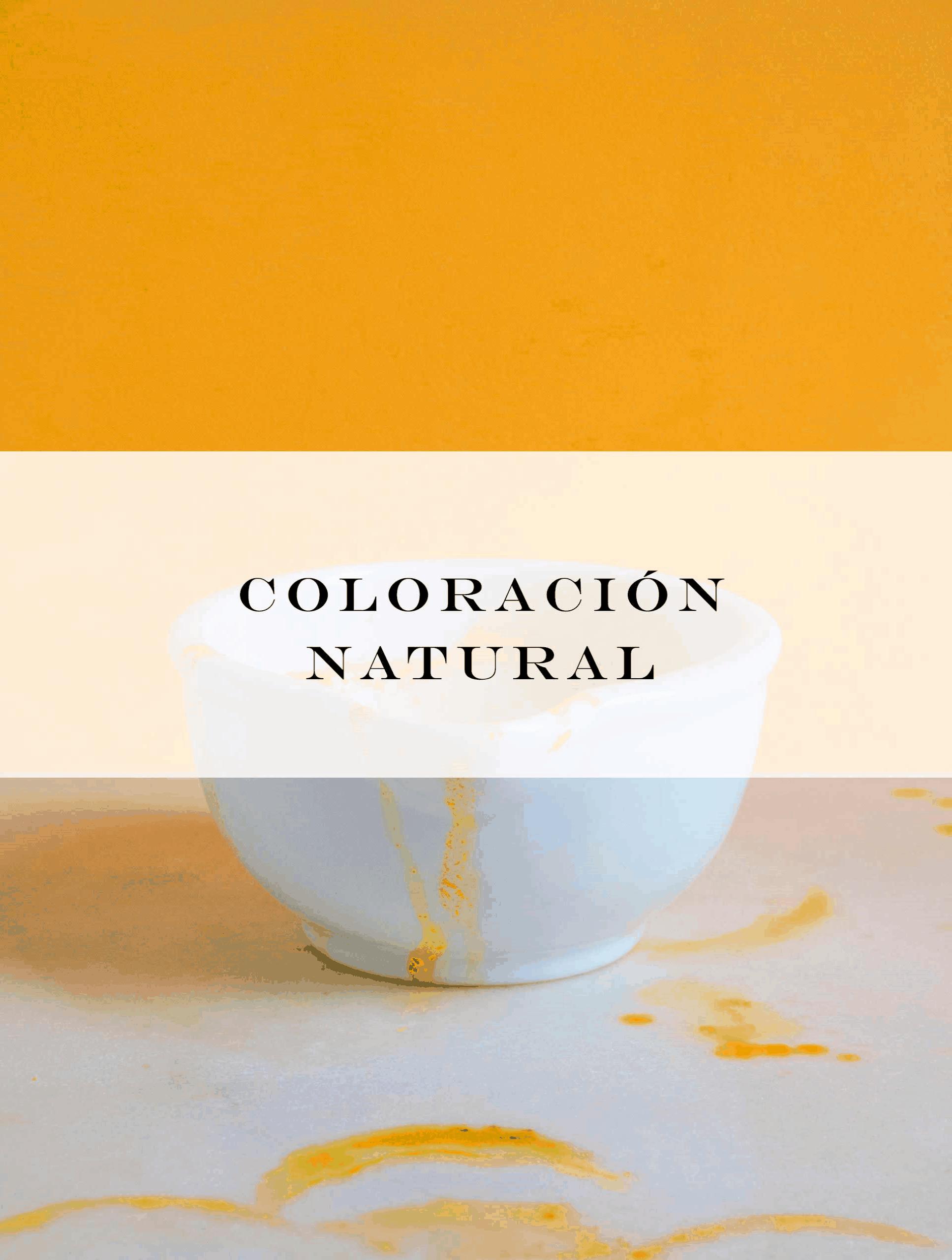 coloracion natural y organica